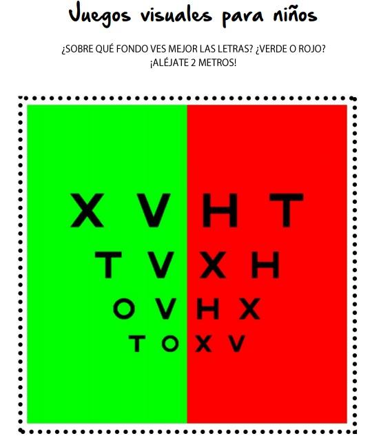 Juegos Visuales Para Ninos Optica Y Centro Auditivo Fani Julve